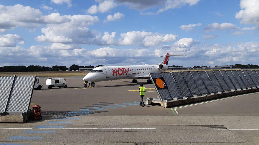 Aéroport de Rennes St Jacques, Saint-Jacques-de-la-Lande (Ille-et-Vilaine), 18 août 2019.