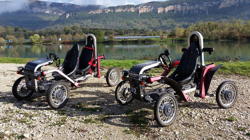 2 modèles de Swincar
