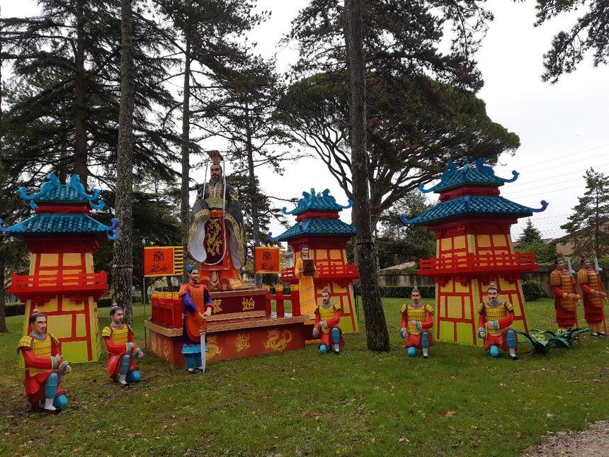 L'histoire de la Chine au cœur de la scénographie du festival.