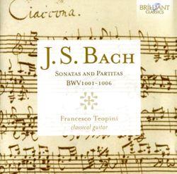Sonate n°3 en Ut Maj BWV 1005 : Allegro assai - FRANCESCO TEOPINI