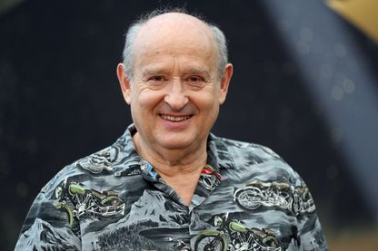 L'auteur-compositeur-interprète et acteur, Michel Jonasz à Monte-Carlo le 20 juin 2017.