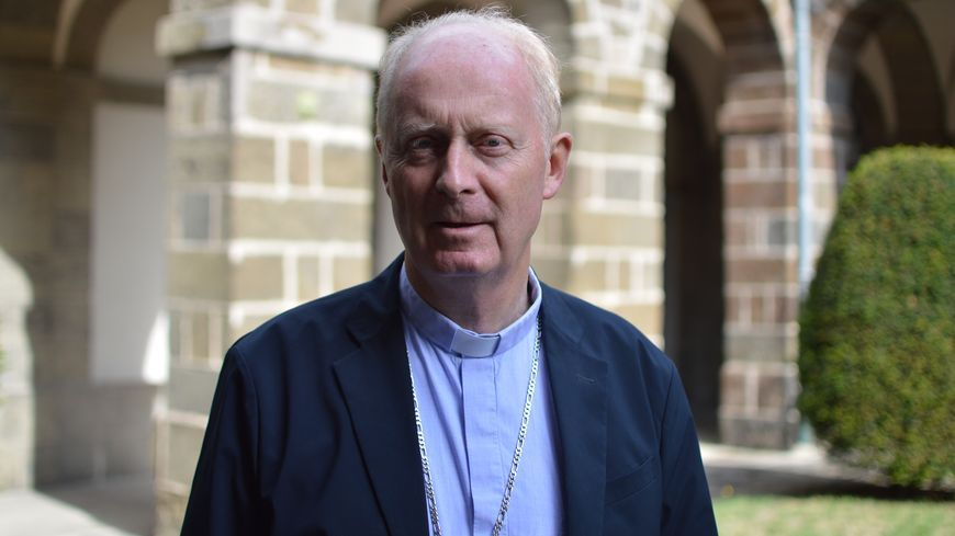 Monseigneur Luc Crépy, évêque du Puy-en-Velay