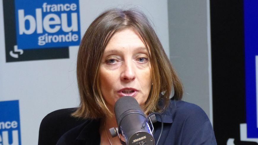 Christine Bost la maire d'Eysines et première vice présidente du département de la Gironde