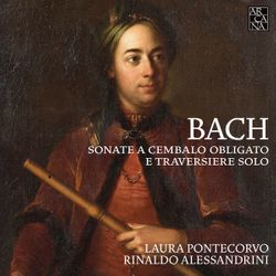 Sonate pour flûte traversière baroque et clavecin en La Maj BWV 1032 : 3. Allegro - LAURA PONTECORVO