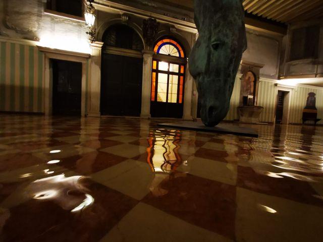L'intérieur du palais de la Comtesse Chiara Modica Donà Dalle Rose à Venise