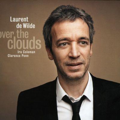 """Pochette de l'album """"Over the clouds"""" par Laurent De Wilde"""