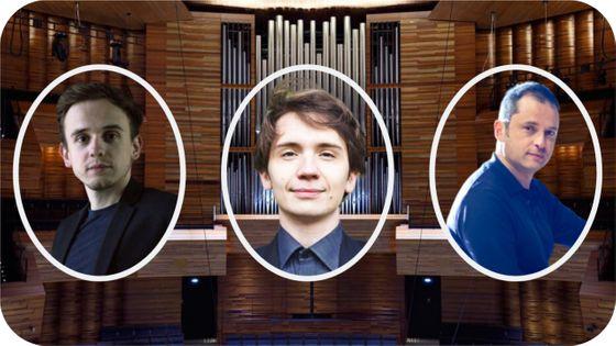 Thomas Ospital, Karol Mossakowski et Vincent Warnier