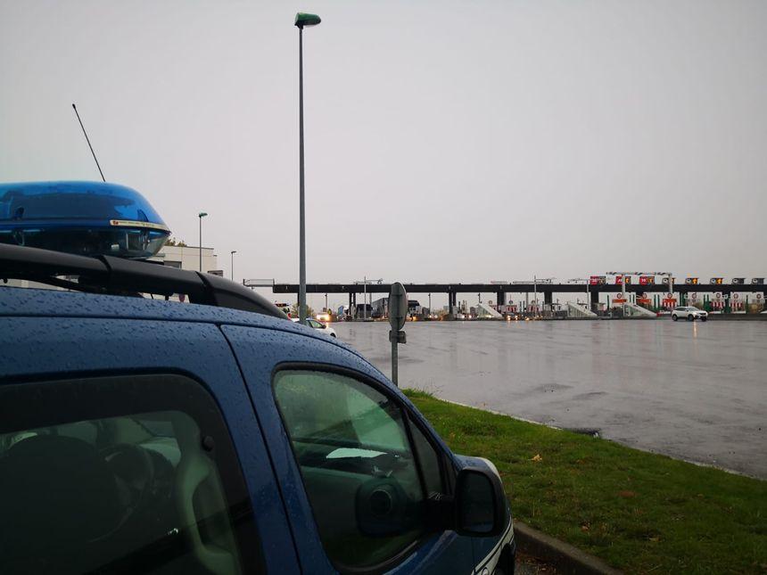 Les gendarmes à St-Quentin Fallavier