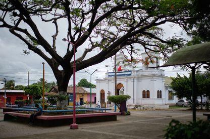 L'église catholique de Masaya au Nicaragua
