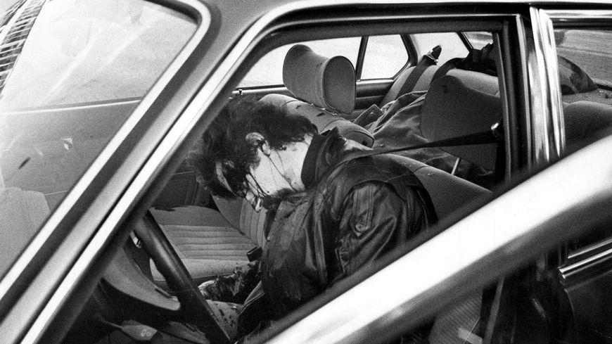 Jacques Mesrine, abattu par les hommes de l'antigang
