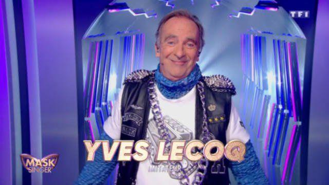 Yves Lecoq dans Mask Singer