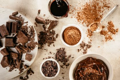 Les plaisirs du chocolat