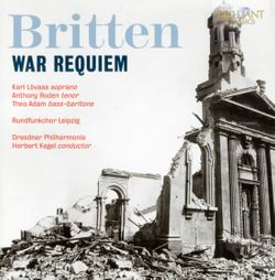 War requiem op 66 : Dies irae : Out there we've walked quite friendly up to death (Ténor et baryton) - ANTHONY RODEN