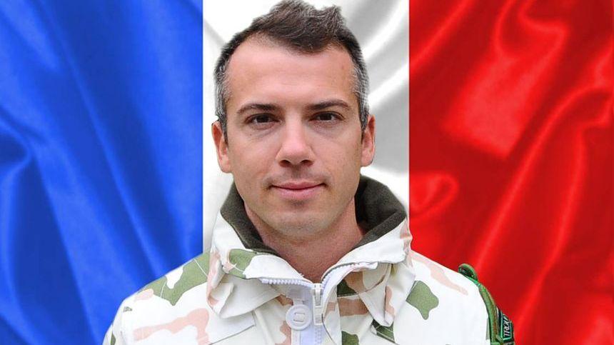 Capitaine Romain Chomel de Jarnieu, 4e Régiment de chasseurs de Gap.