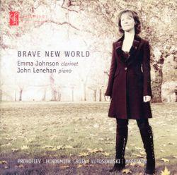 Sonate pour flûte et piano en Ré Maj op 94 : Andantino - arrangement pour clarinette piano - Emma Johnson