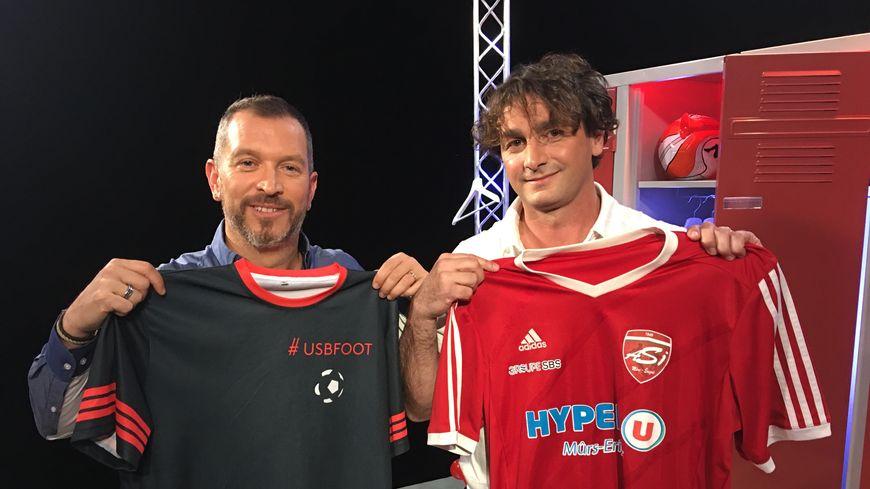 Olivier Polard, le coach de l'ASI Mûrs-Erigné Football invité d'USBFOOT