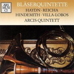 Quintette à vent en Ré Maj op 91 n°3 : Adagio - pour flûte traversière clarinette hautbois cor et basson - Quintette Arcis