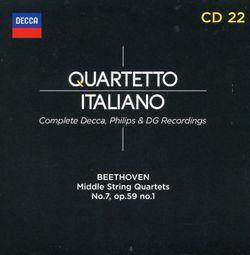 Quatuor à cordes n°7 en Fa Maj op 59 n°1 : Adagio molto e mesto - QUARTETTO ITALIANO