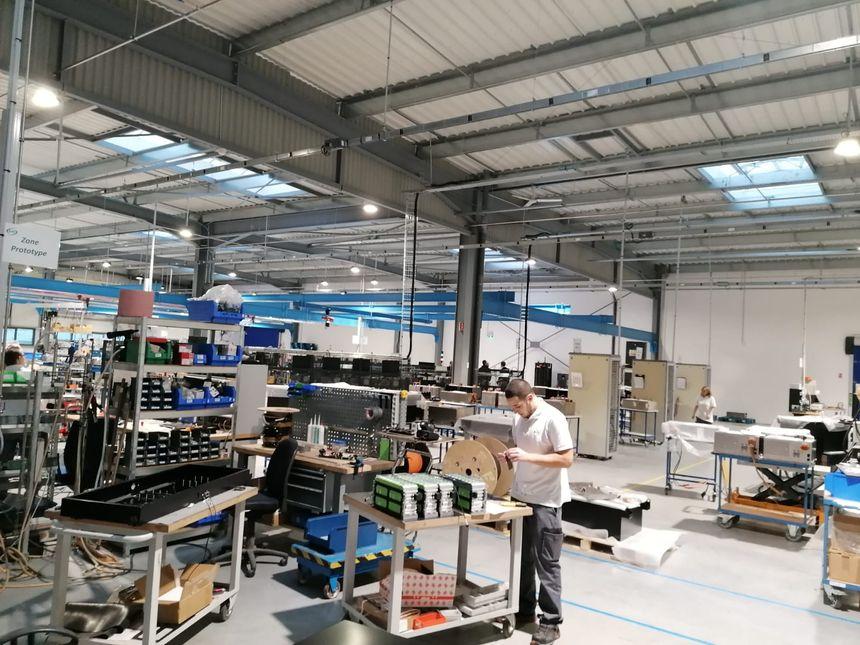 Les nouveaux locaux assurent aux employés de meilleures conditions de travail d'après Denys Gounot.