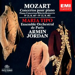 Concerto pour piano et orchestre n°21 en Ut Maj K 467 : Andante - MARIA TIPO