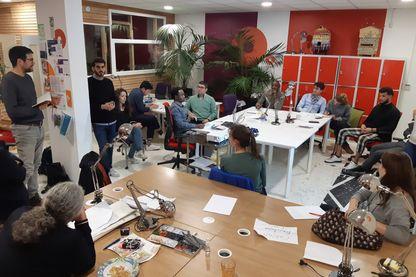 Un incubateur pour entrepreneurs réfugiés vient d'ouvrir à Montreuil à l'est de Paris.