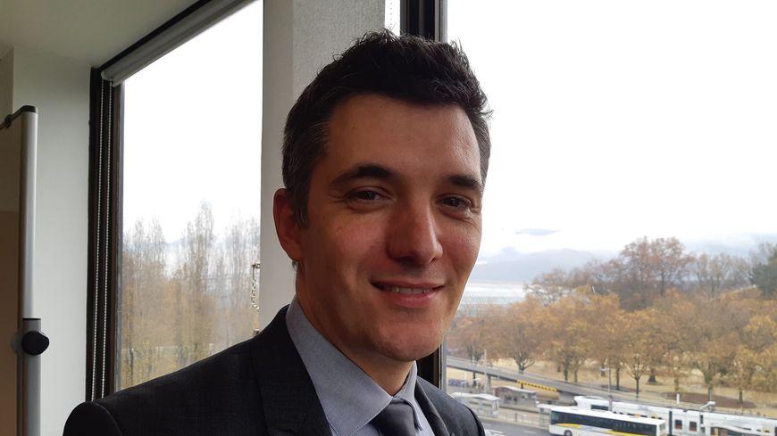 Aymeric Meiss, directeur de cabinet de la rectrice d'académie