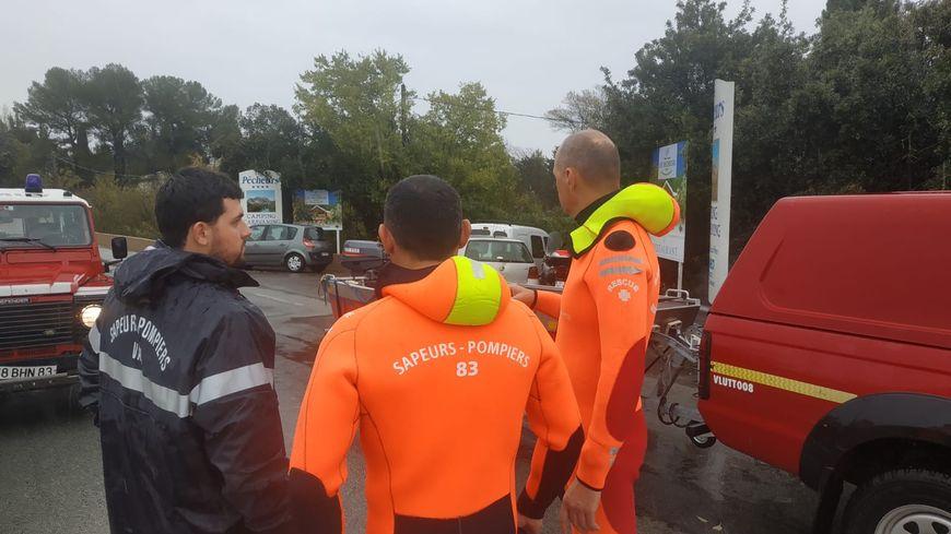 Les pompiers du Var mobilisés sur les inondations