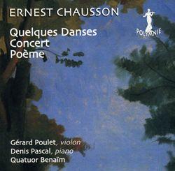 Concert en Ré Maj op 21 : Très animé - pour piano violon et quatuor à cordes - DENIS PASCAL
