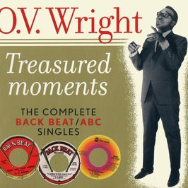 "Pochette de l'album ""Treasured moments : The complete back beat / ABC singles"" par O.V. Wright"