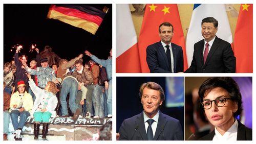 Berlin 1989-2019 / Peut-on encore résister à la Chine? / La droite ni Macron ni RN a-t-elle un avenir?
