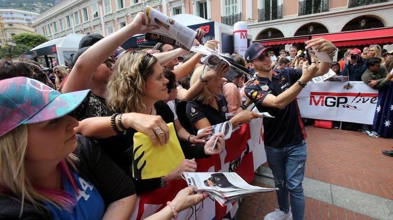 Le Normand Pierre Gasly a su reconquérir le public après un terme début de saison chez Red Bull en Formule 1