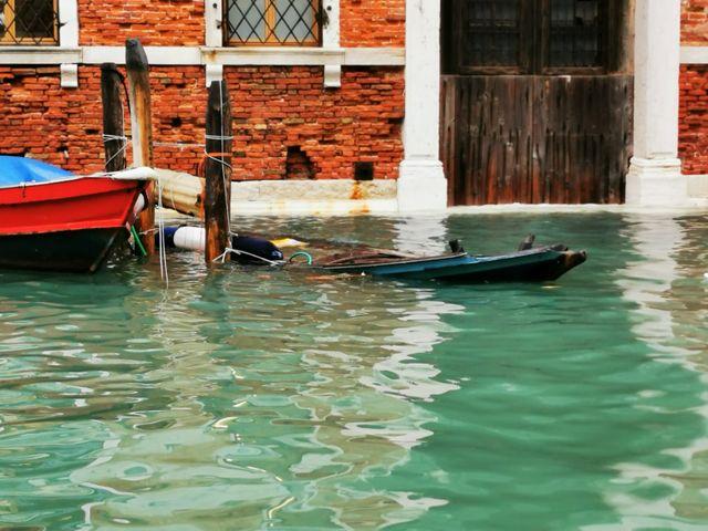 Venise sous les eaux vue du palais de la Comtesse Chiara Modica Donà Dalle Rose