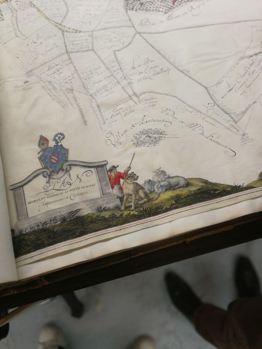Quelques uns des trésors renfermé aux Archives départementales de Côte-d'Or