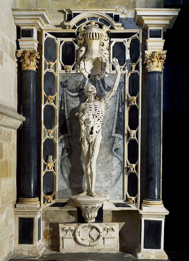 le célèbre transi de Robert de Châlons