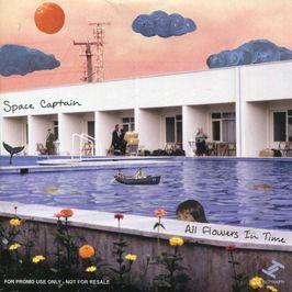 """Pochette de l'album """"All Flowers in Time"""" par Space Captain"""