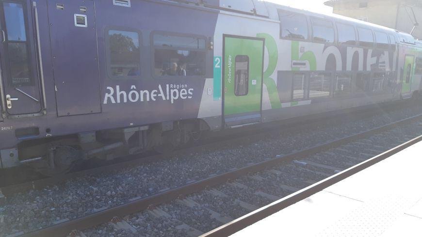 Un train Annecy / Valence arrêté à Romans-sur-Isère : 80 personnes bloquées - France Bleu
