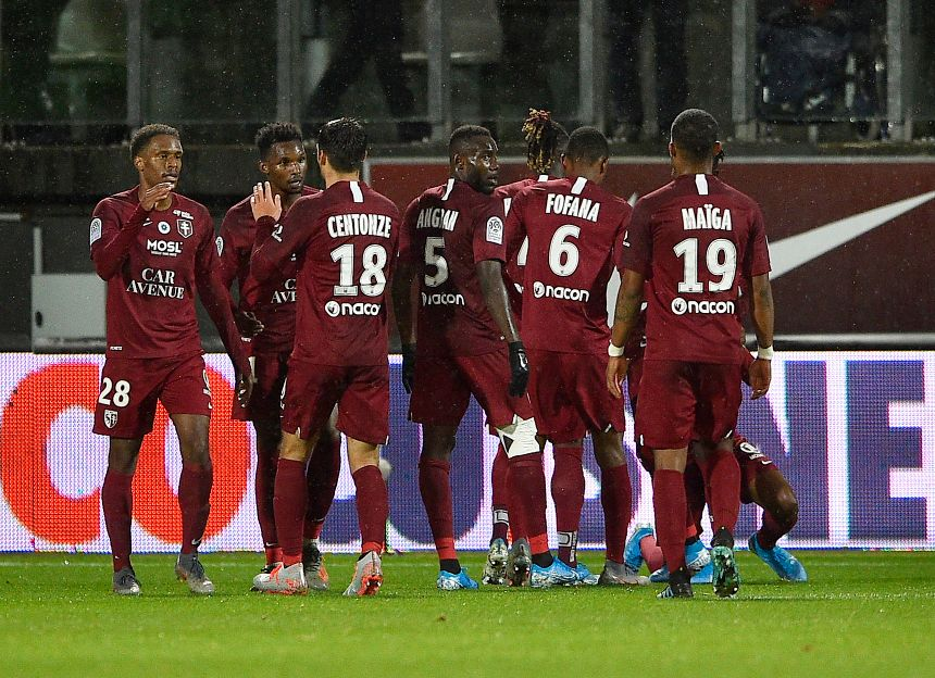 Le FC Metz occupe la 17e place de la Ligue 1 avec 13 points.