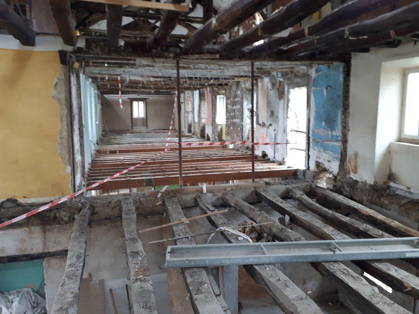 L'intérieur de la bâtisse va être totalement réaménagé