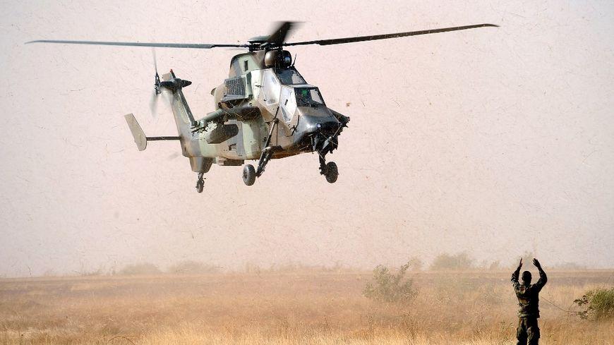 Un Eurocopter Tigre au Mali en 2013 (illustration)