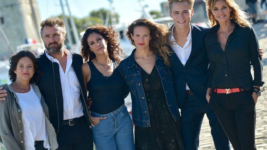 """Le casting de la série phare de TF1 """"Demain nous appartient"""", tournée à Sète."""