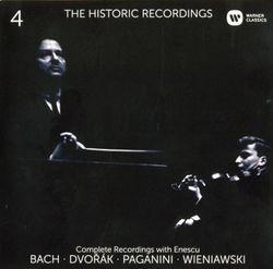 Concerto en ré min BWV 1043 : Vivace - pour 2 violons cordes et basse continue - YEHUDI MENUHIN