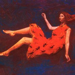 "Pochette de l'album ""Summer on Mars"" par Marina P & Stand High Patrol"