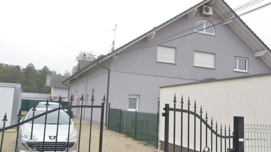 La maison où habitait Sylvia Walter, tuée par son compagnon le 10 novembre 2019, à Oberhoffen-sur-Moder.