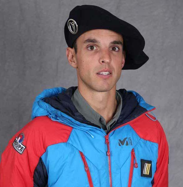Max Bonniot, décédé la nuit dernière dans le massif du Mont-Blanc