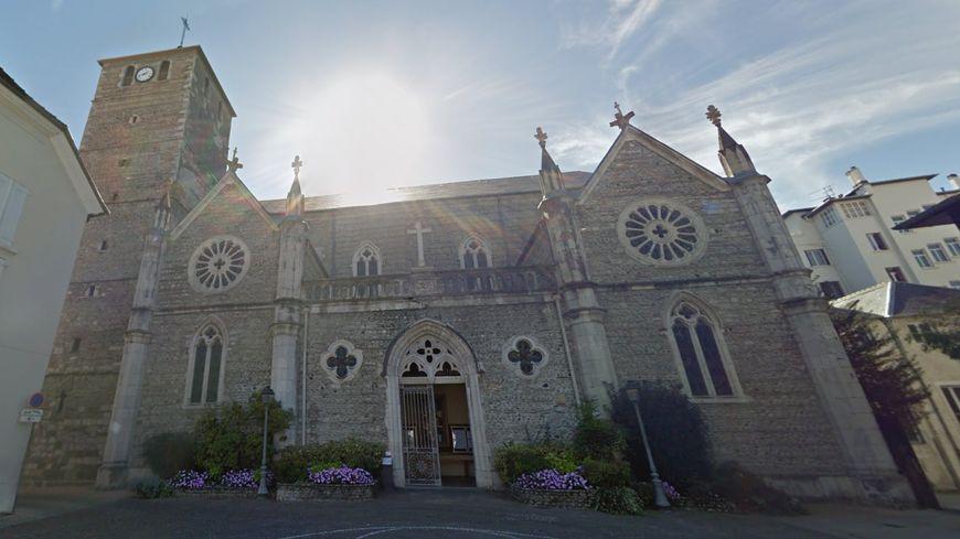 L'Église Saint-Jean de Tarbes où ont eu lieu les dégradations ce mercredi, en plein jour.