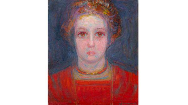Quelle musique voyez-vous sur le tableau « Portrait d'une jeune fille » de Mondrian ?