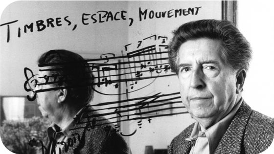 Henri Dutilleux en novembre 1987 à Paris, France