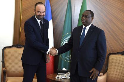 Edouard Philippe et Macky Sall, le 17 novembre à Dakar.