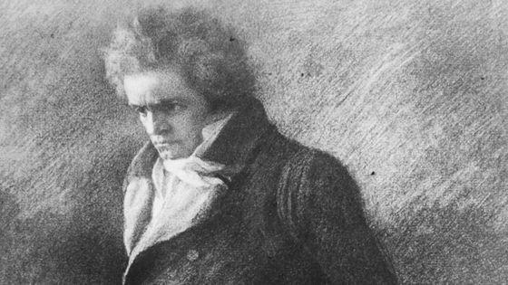 Ludwig Van Beethoven (détail)