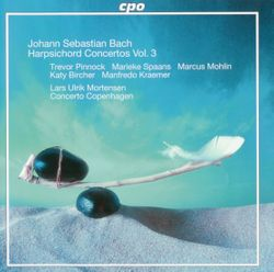 Triple concerto pour flûte traversière violon clavecin cordes et basse continue en la min BWV 1044 : Allegro - KATY BIRCHER